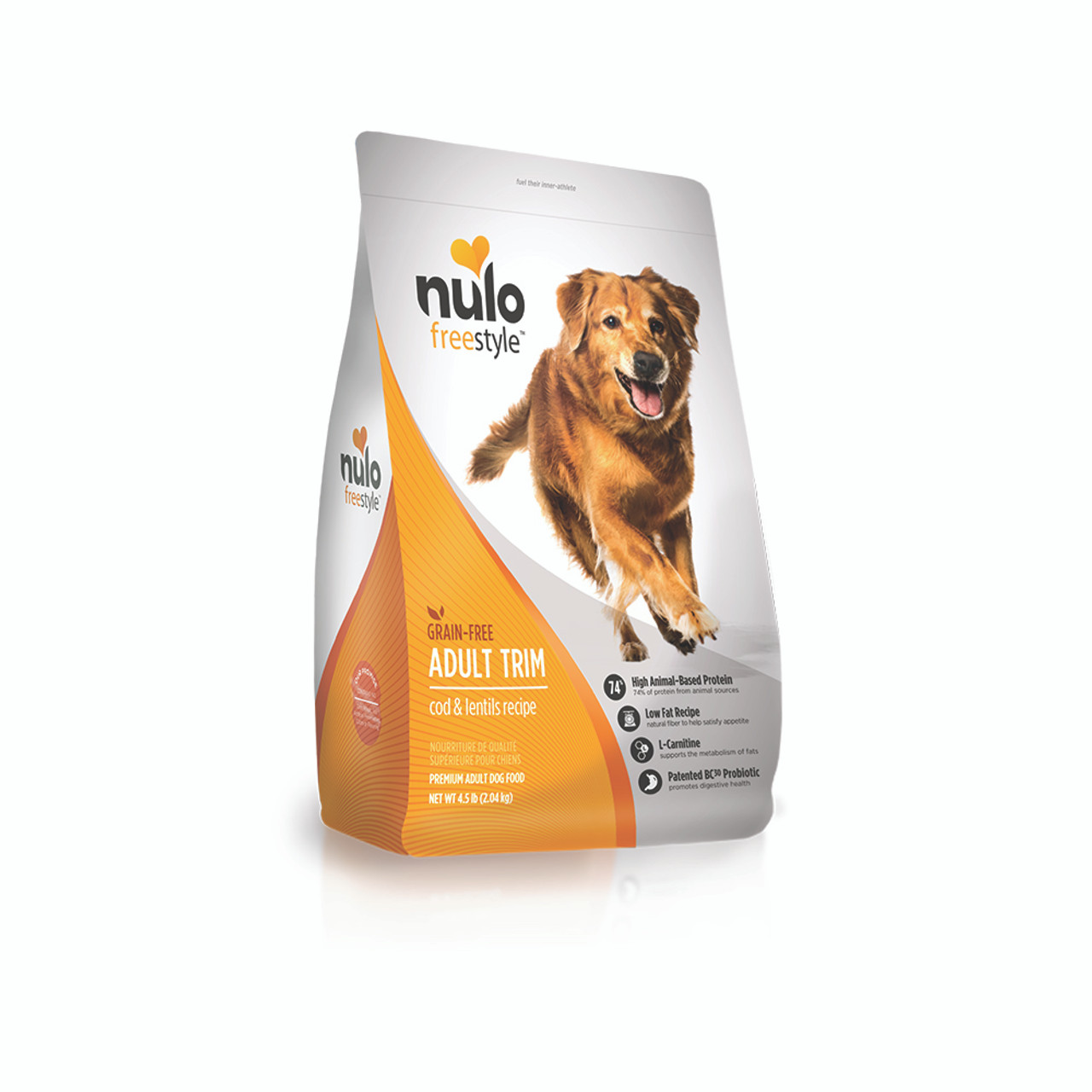 Nulo Freestyle Adult Trim Cod & Lentils Dry Dog Food