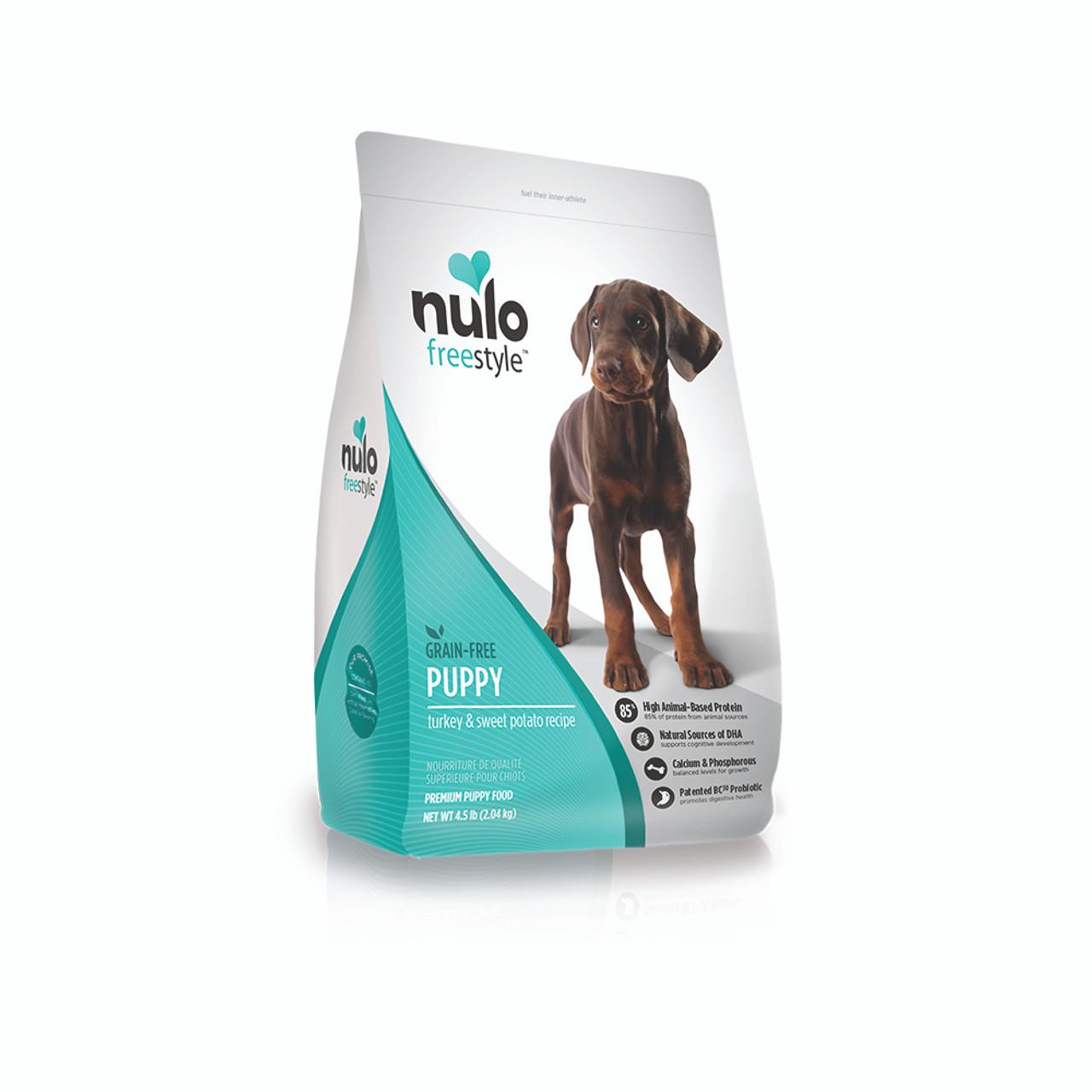 Nulo Freestyle Grain-Free Puppy Turkey & Sweet Potato Dry Dog Food