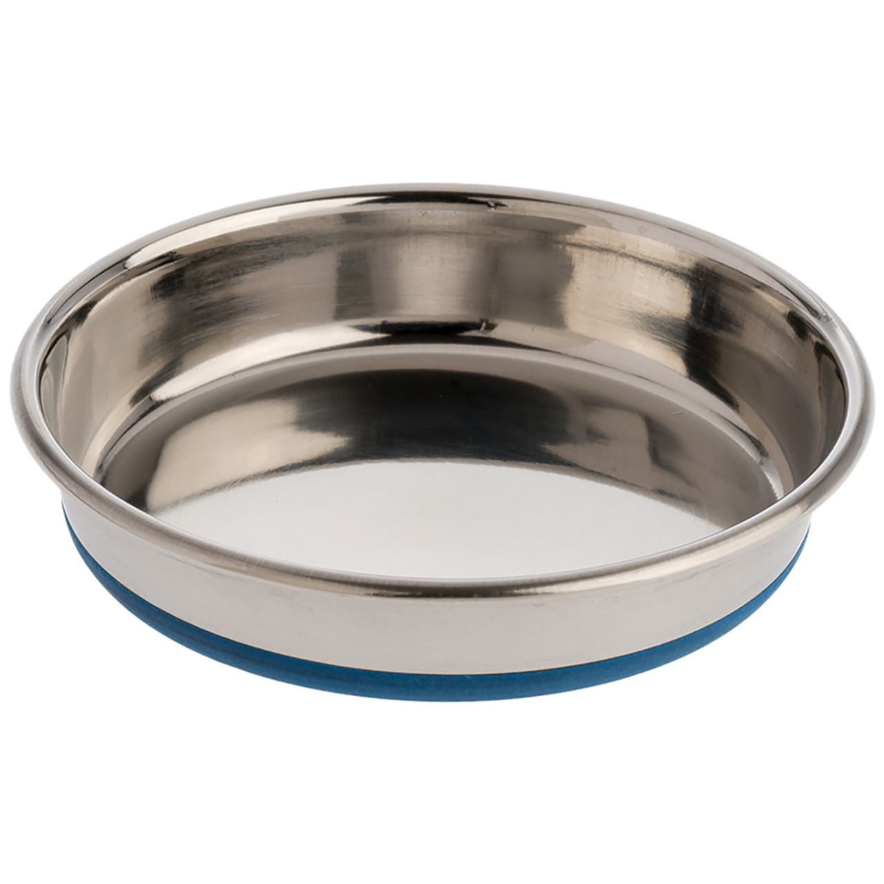 OurPets Durapet Stainless Steel Cat Bowl - Front