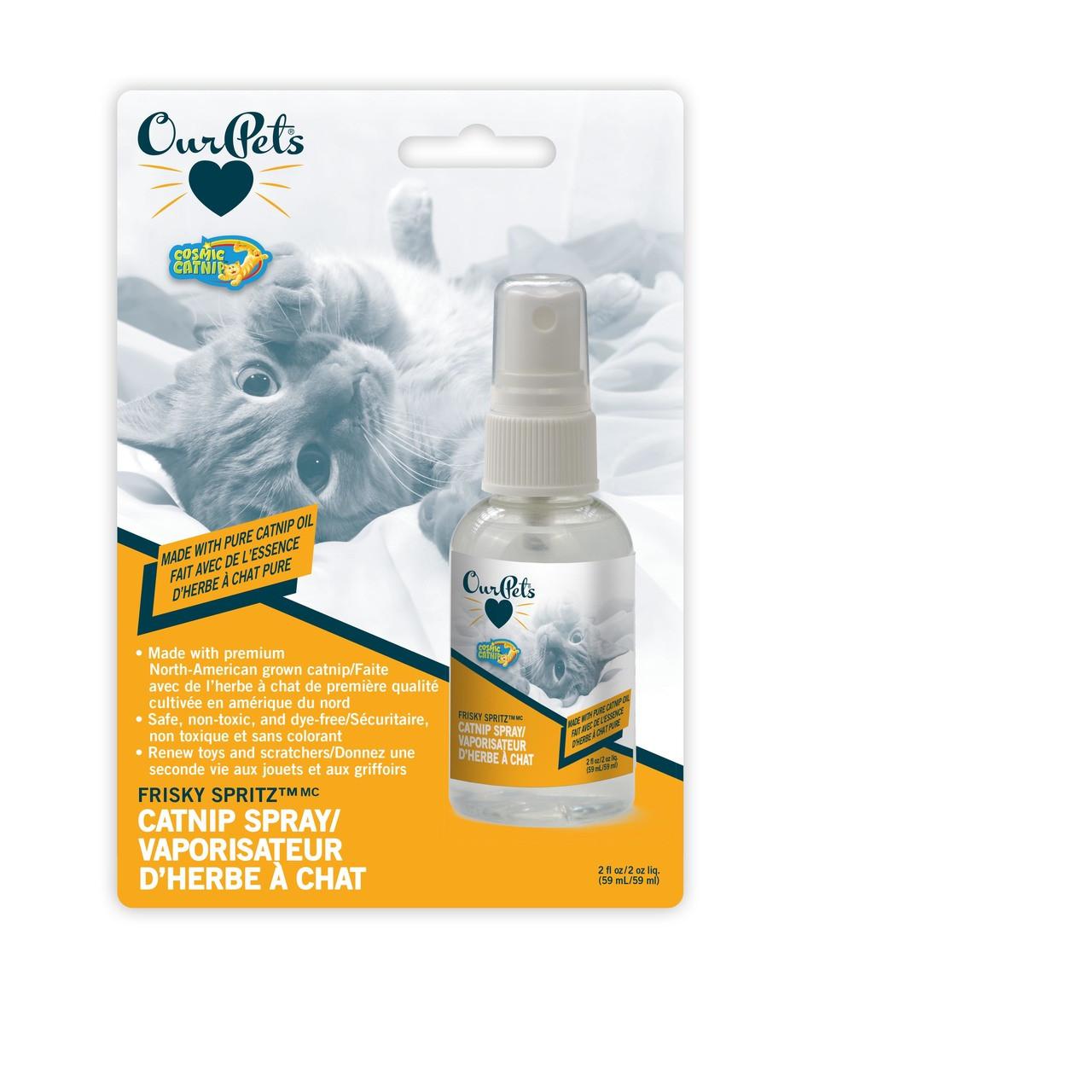 OurPets Frisky Spritz Catnip Spray