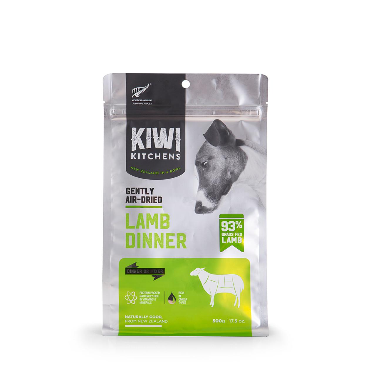 Kiwi Kitchens Gently Air-Dried Lamb Dinner Dog Food