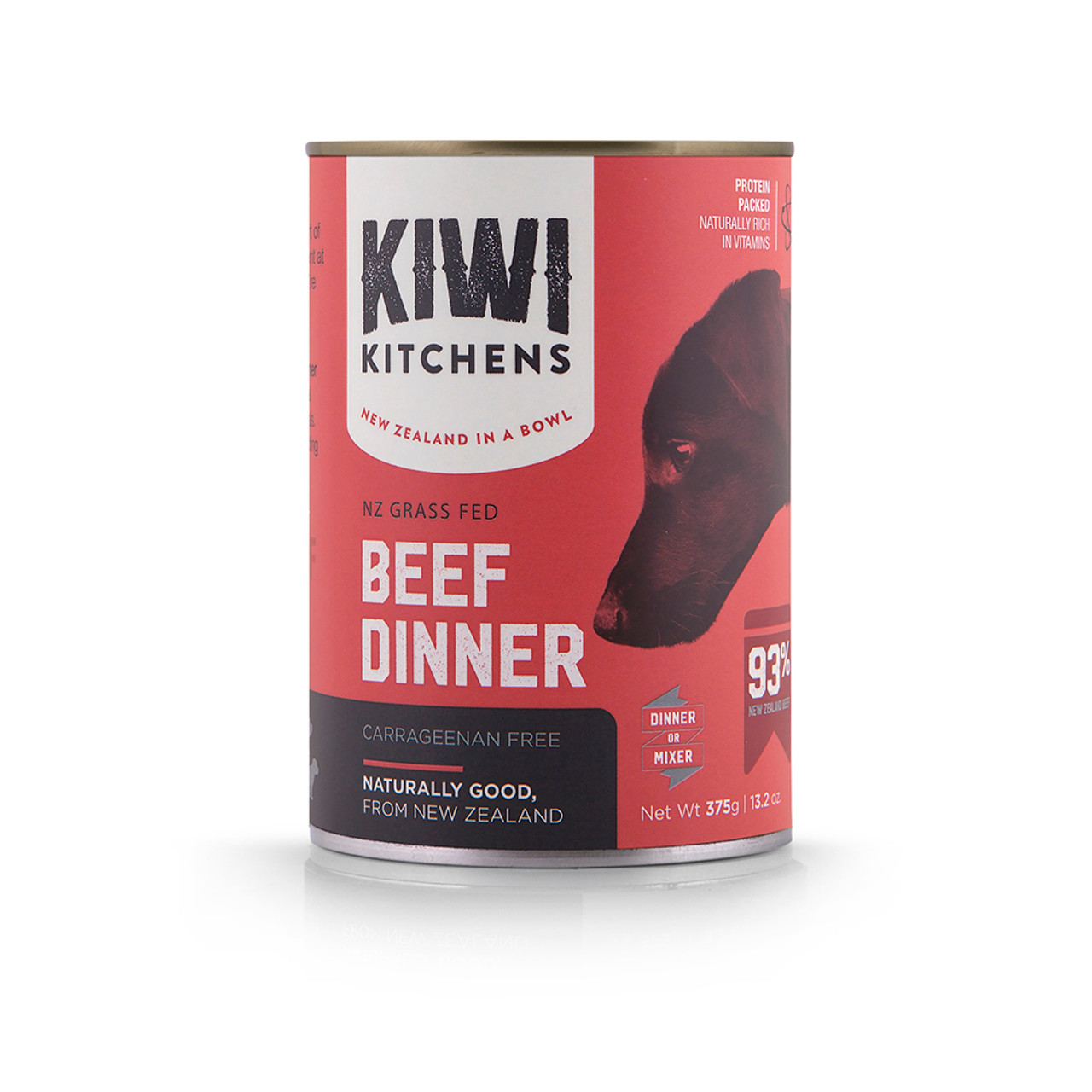 Kiwi Kitchens Grass Fed Beef Dinner Canned Dog Food