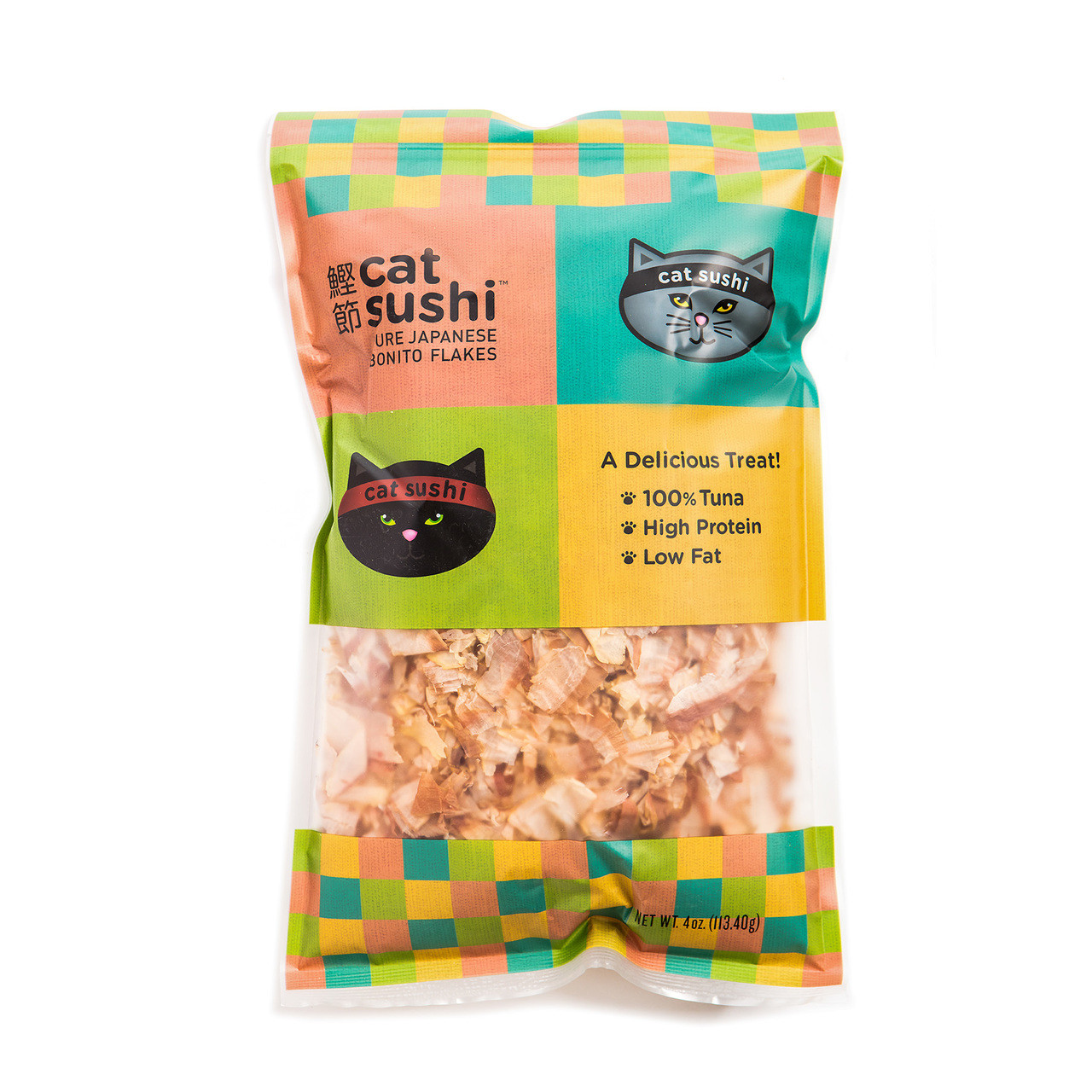 Presidio Natural Pet Cat Sushi Bonito Flakes - 4 oz.