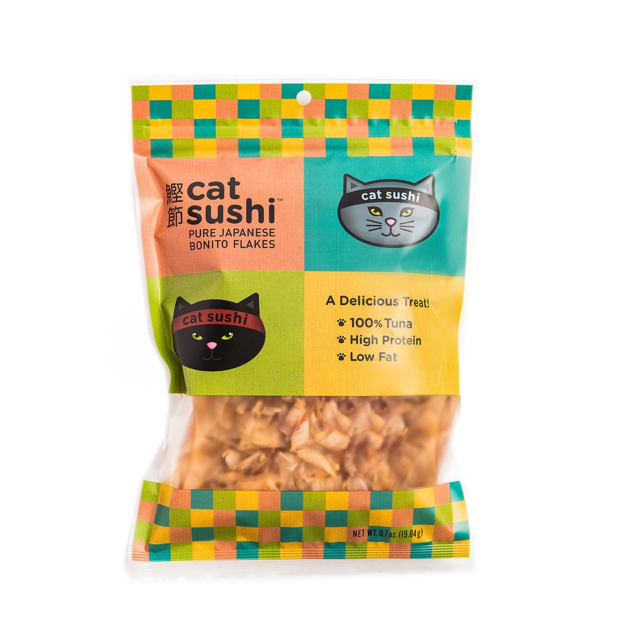 Presidio Natural Pet Cat Sushi Bonito Flakes - 0.7 oz.