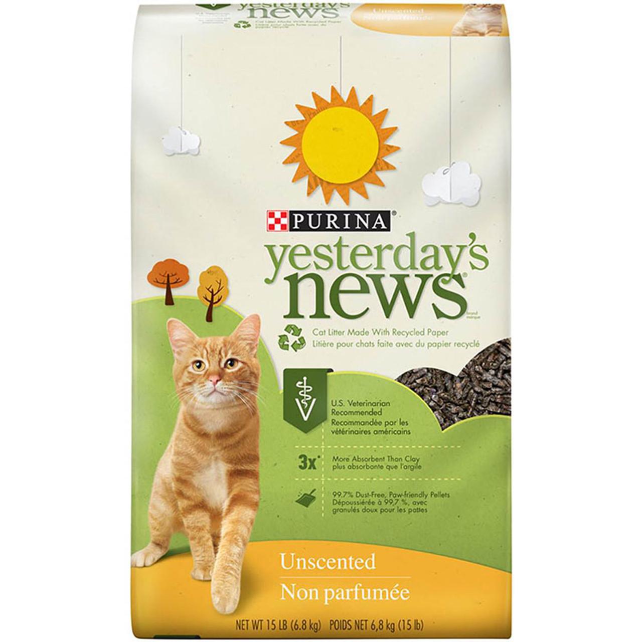 Purina Yesterdays News Original Cat Litter