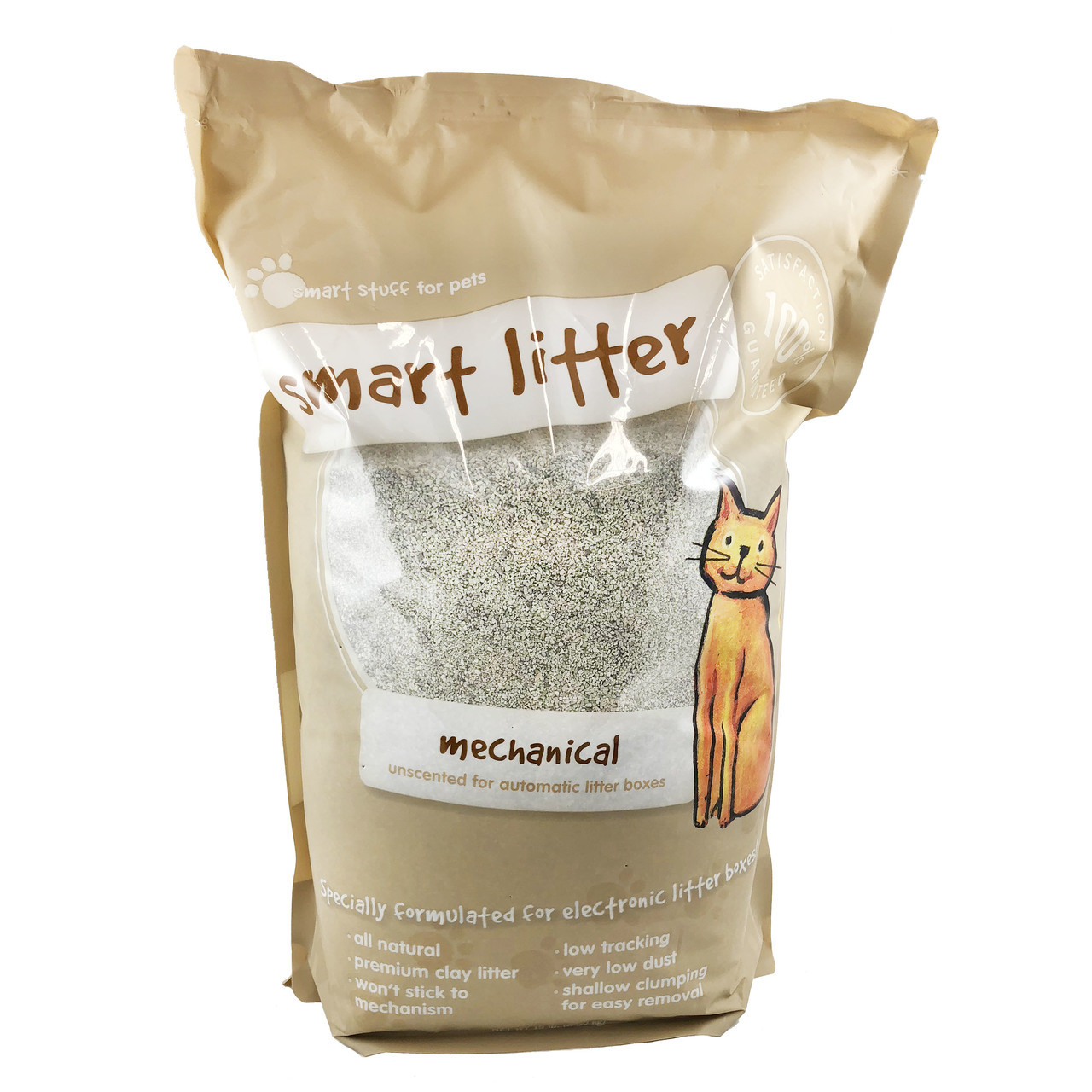 Smart Litter Mechanical Unscented for Automatic Litter Boxes Formula Cat Litter