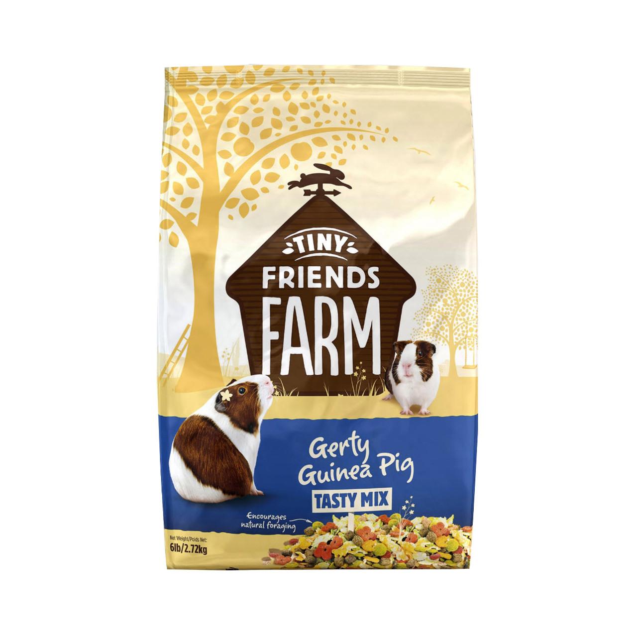 Tiny Friends Farm Gerty Guinea Pig Tasty Mix Food