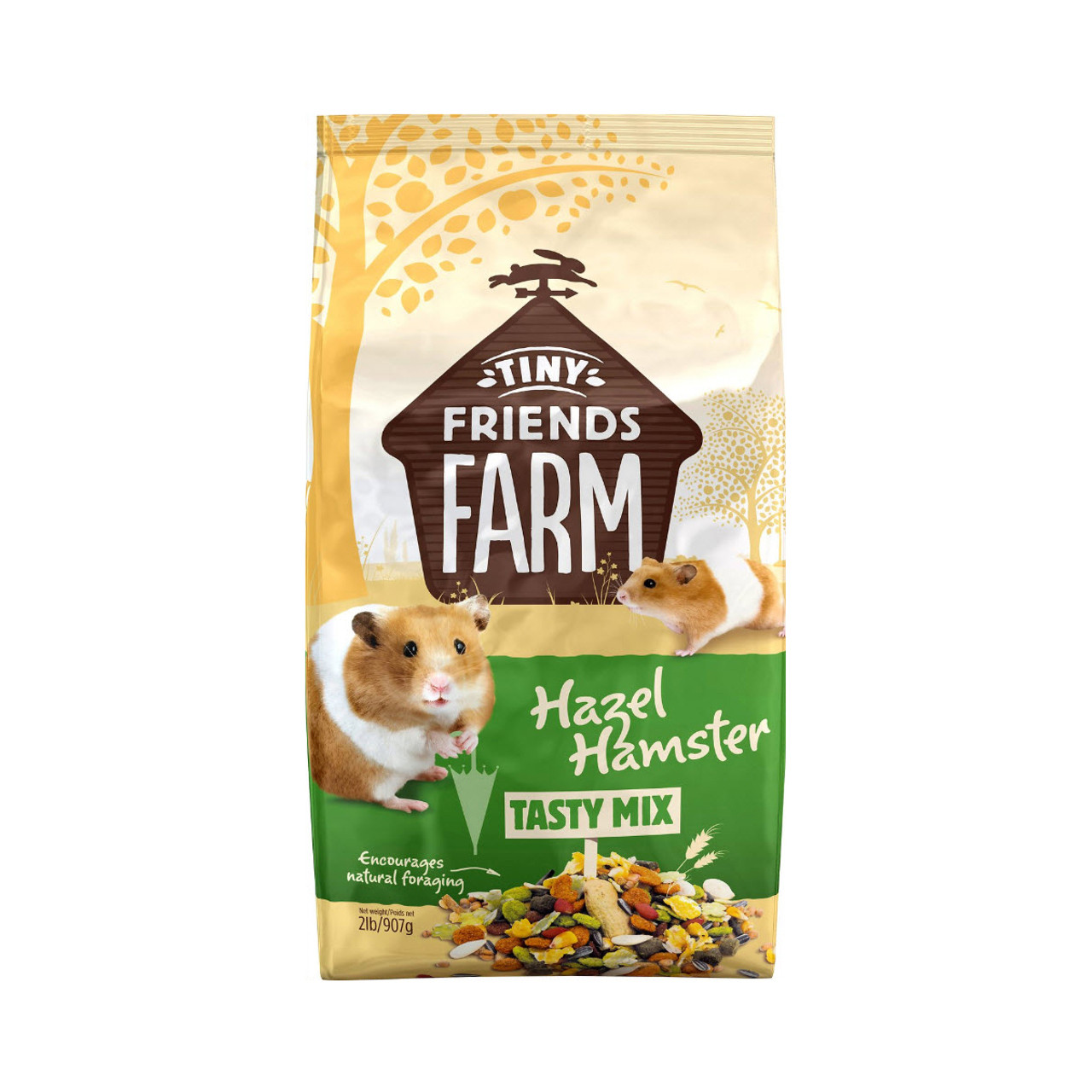Tiny Friends Farm Hazel Hamster Tasty Mix Food