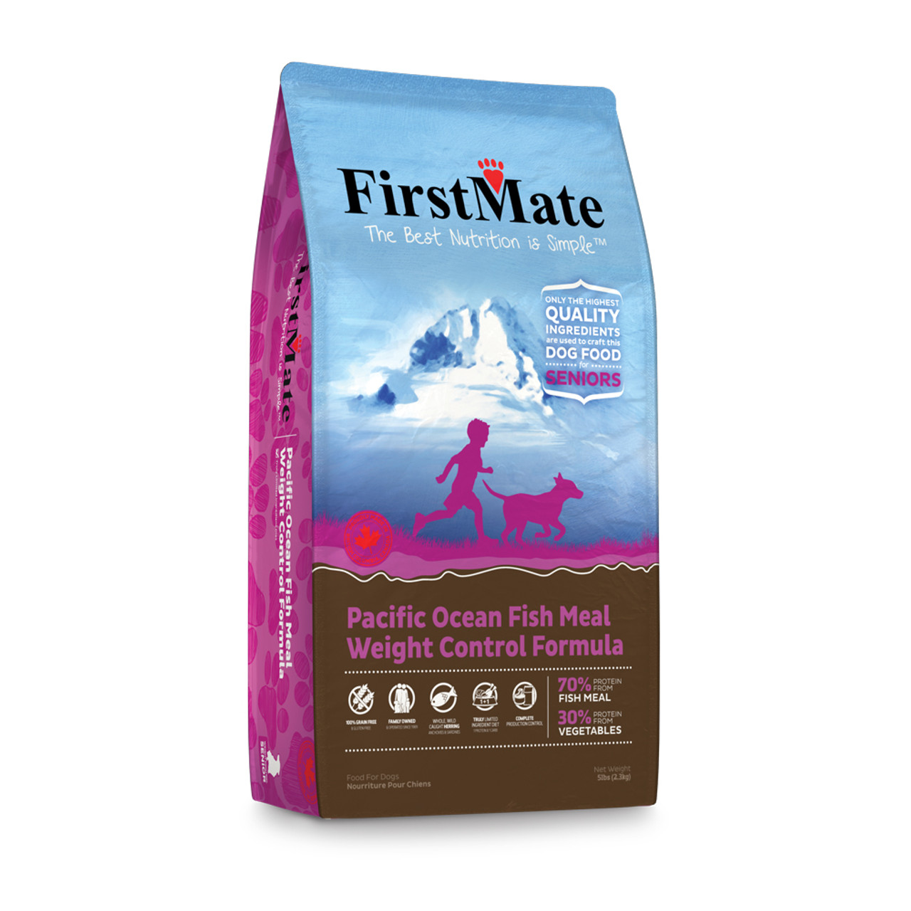 FirstMate Pacific Ocean Fish Meal Weight Control Formula Dry Dog Food