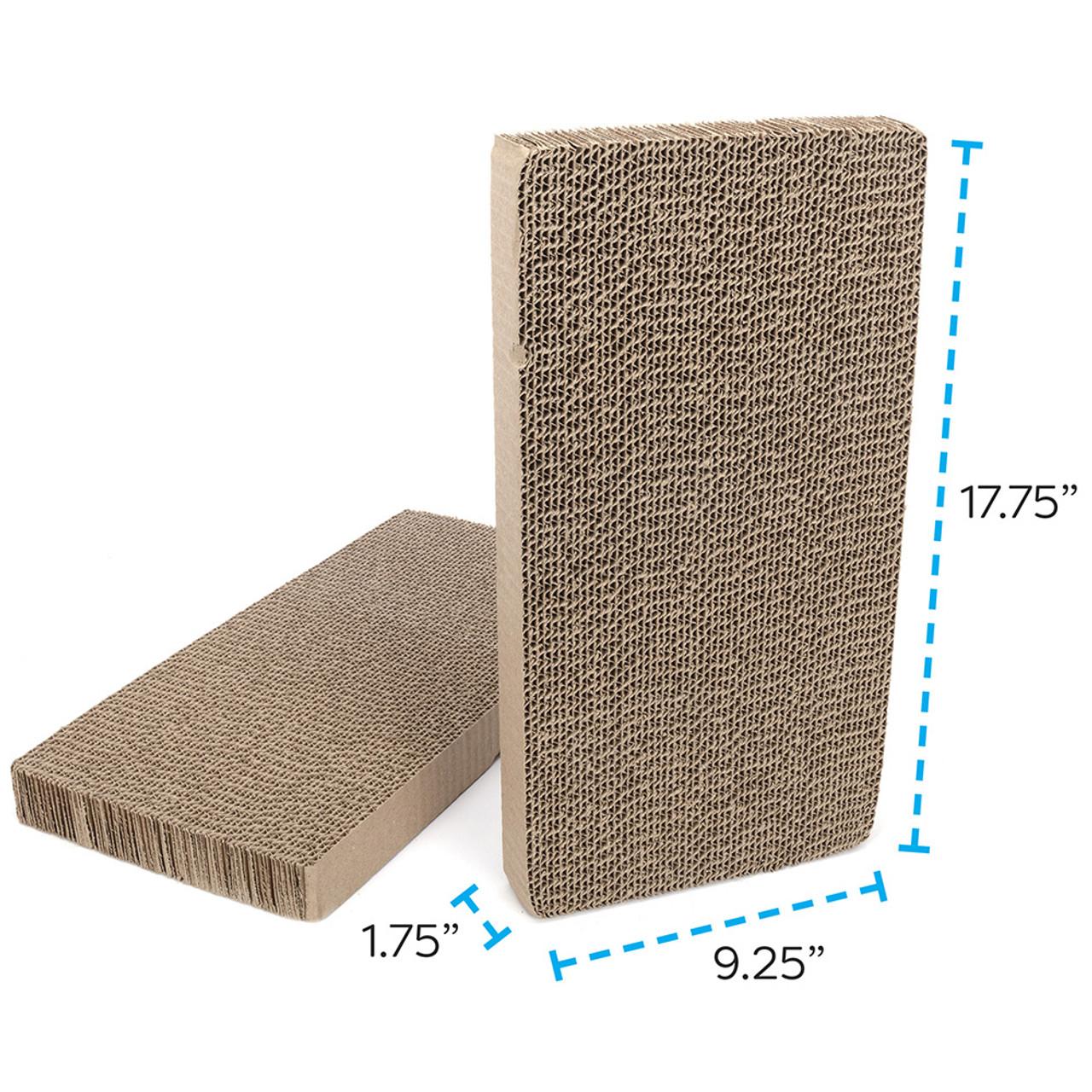 Ware Reversible Replacement Double Cardboard Cat Scratcher