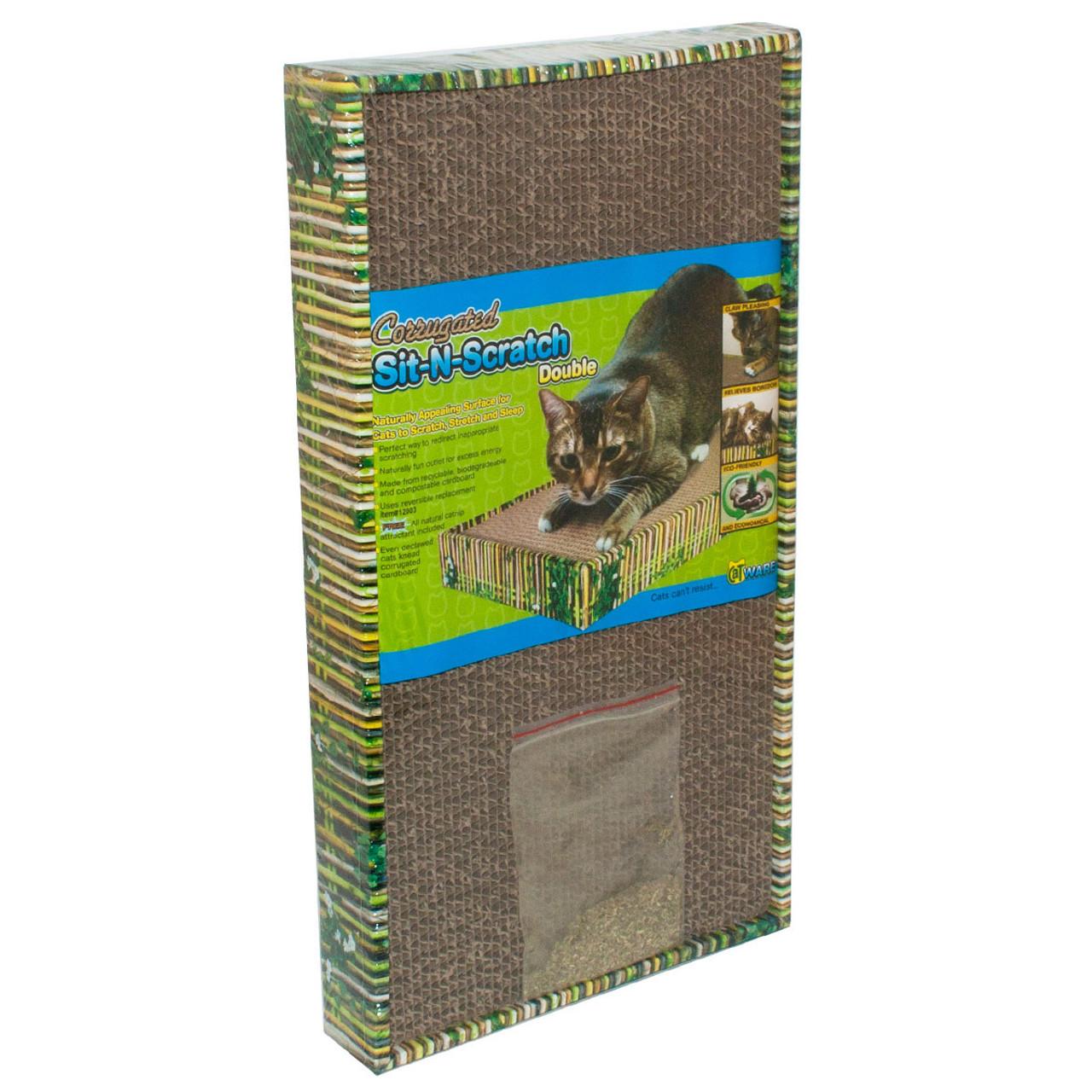 Ware Sit-N-Scratch Double Cardboard Cat Scratcher