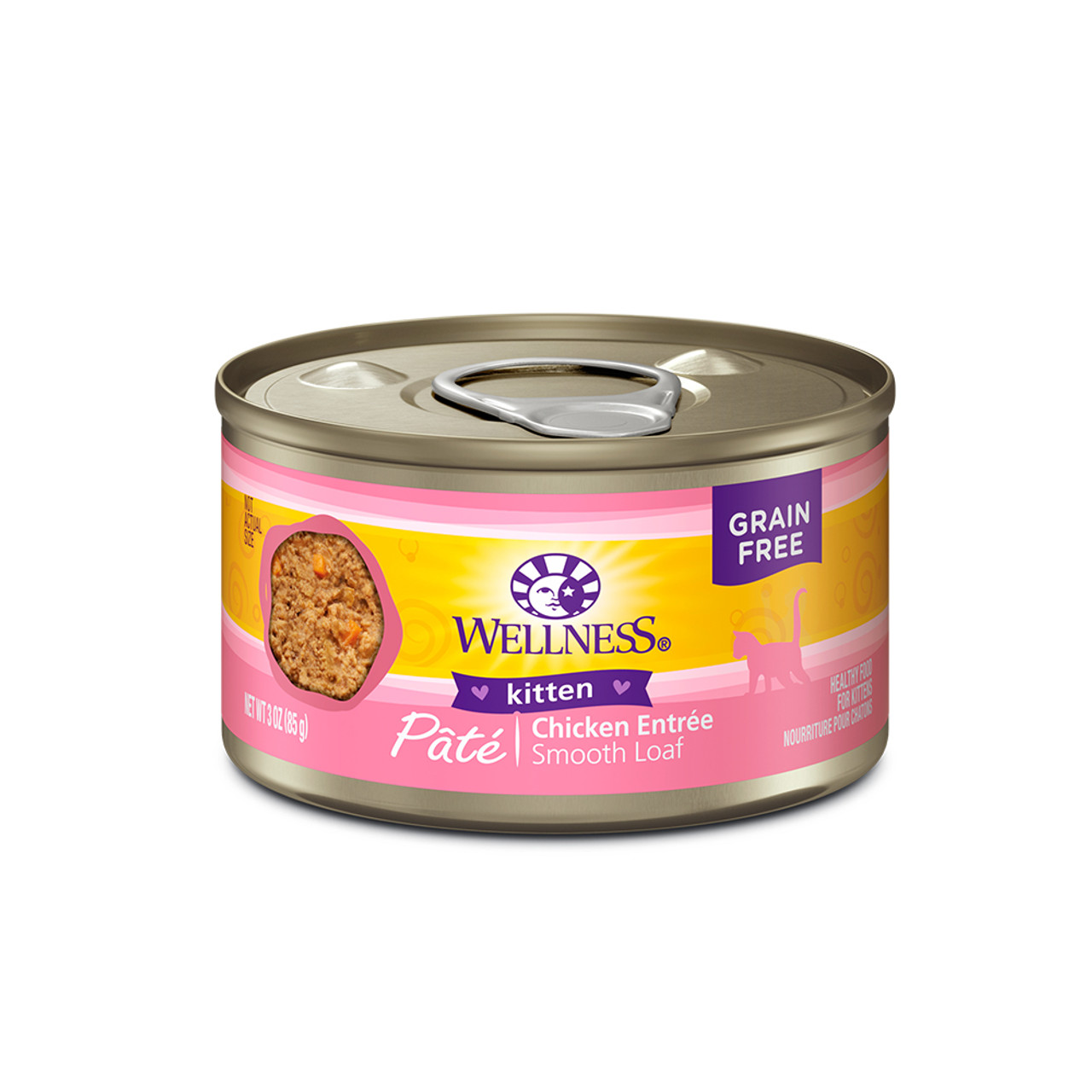Wellness Complete Health Kitten Pate Canned Cat Food