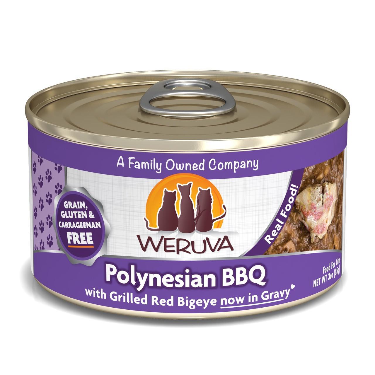 Weruva Polynesian BBQ with Grilled Bigeye Canned Cat Food