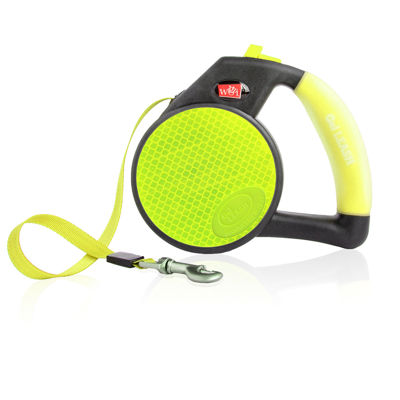 Wigzi Retractable Reflective Gel Leash for Dogs