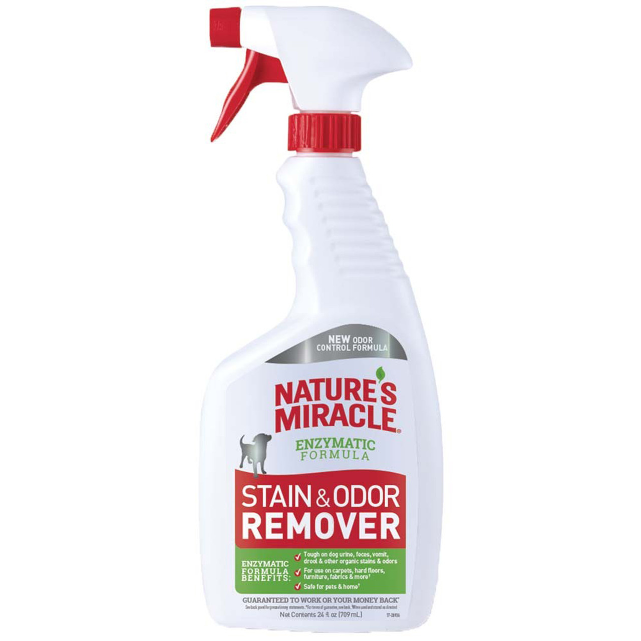 Nature's Miracle Enzymatic Formula Stain & Odor Remover for Dogs