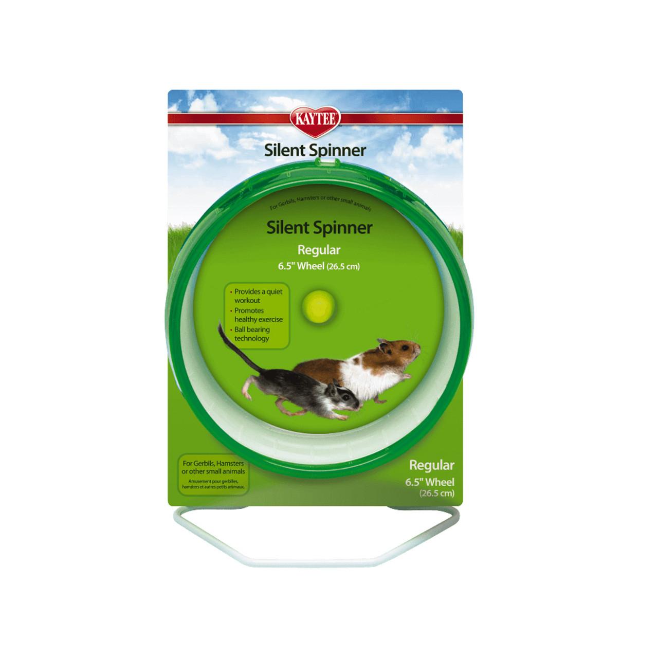 Kaytee Silent Spinner Wheel for Small Animals