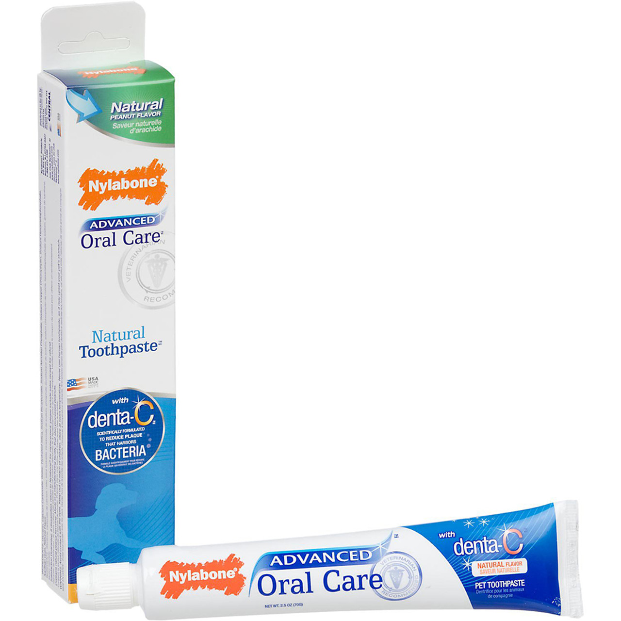 Nylabone Advanced Oral Care Natural Toothpaste for Dogs