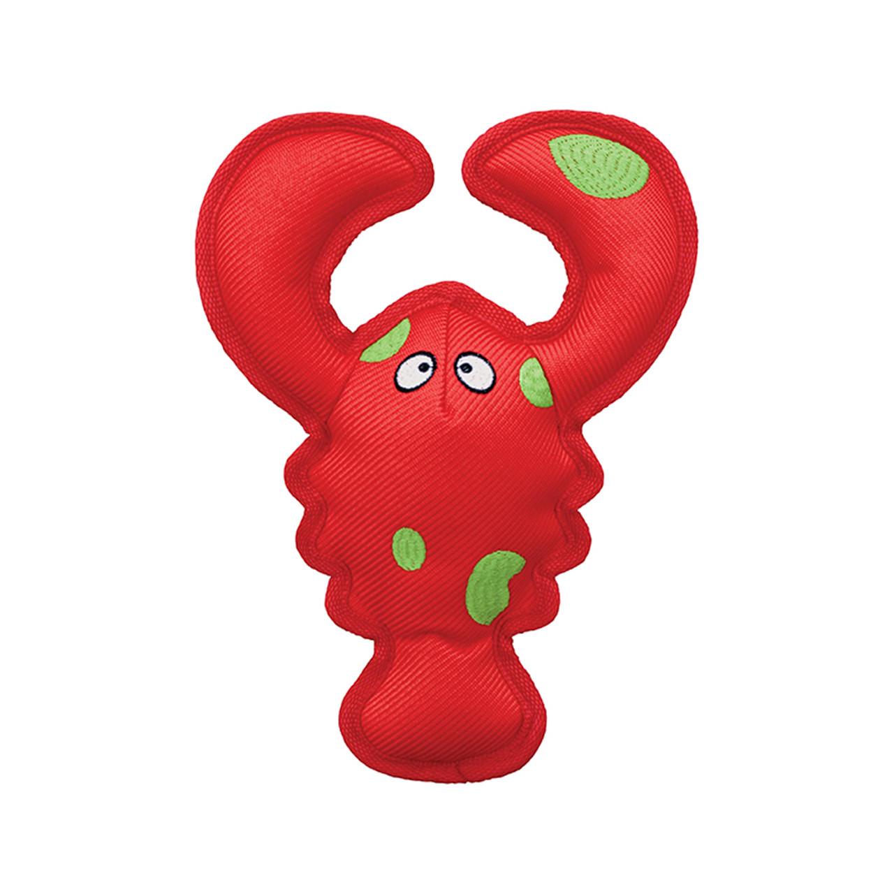 Kong Belly Flops Lobster Dog Toy