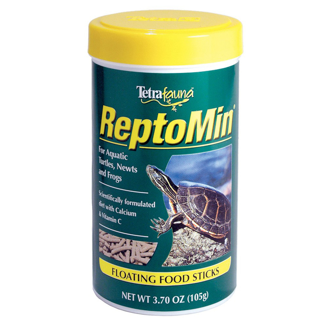 ReptoMin Floating Food Sticks for Turtles, Frogs & Newts