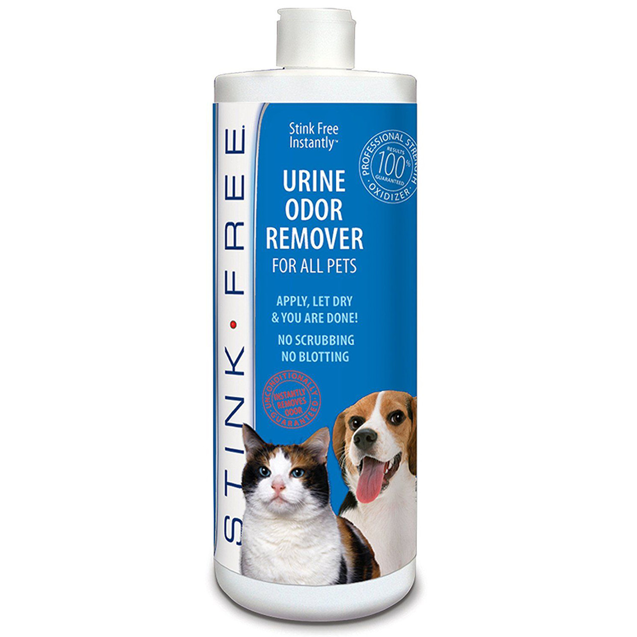 Stink Free Instant Urine Odor Remover For Cats and Dogs