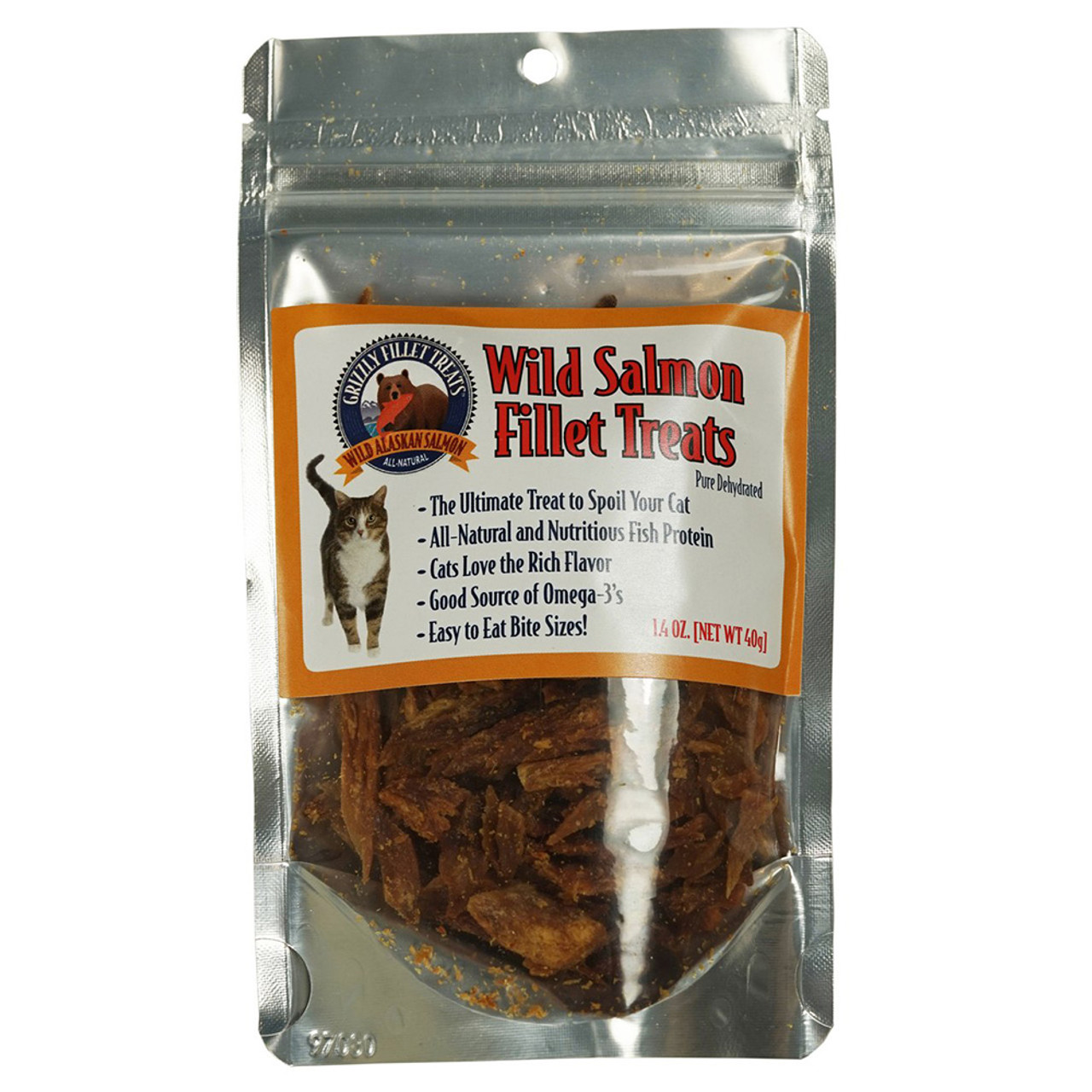 Grizzly Wild Salmon Fillet Cat Treats