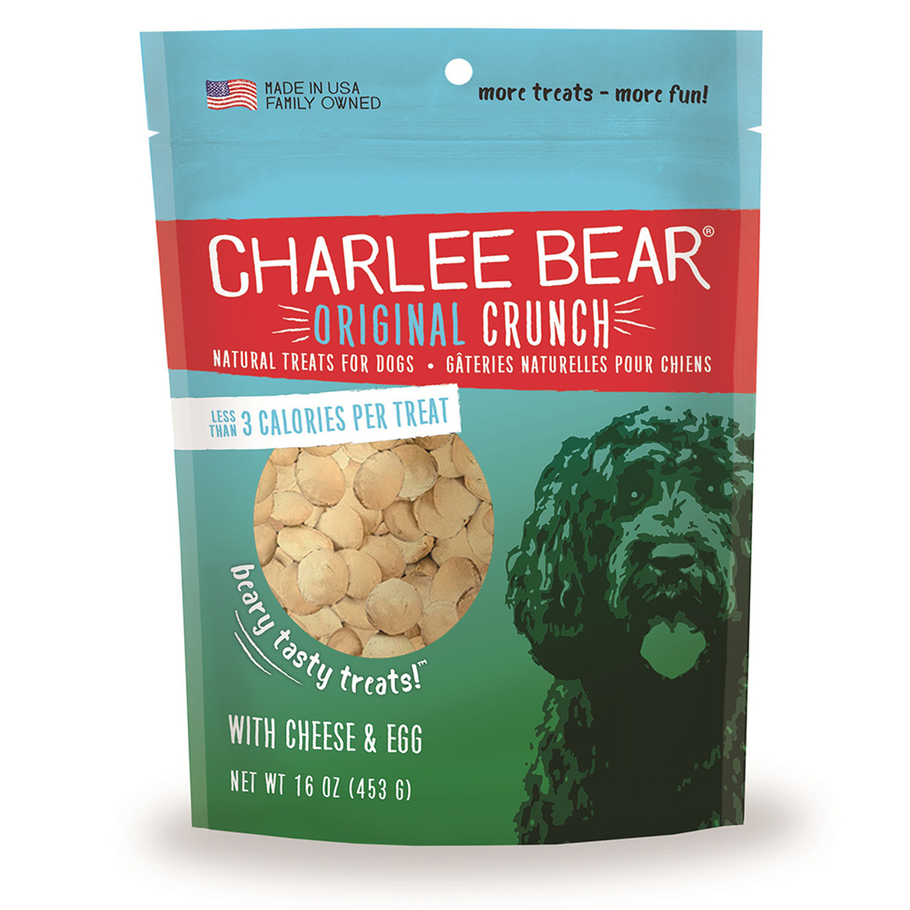 Charlee Bear Cheese & Egg Flavor Dog Treats