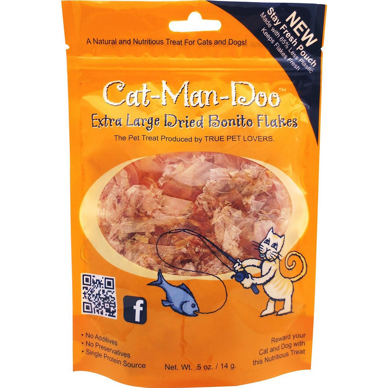 Cat-Man-Doo Bonito Fish Flake Cat Treats