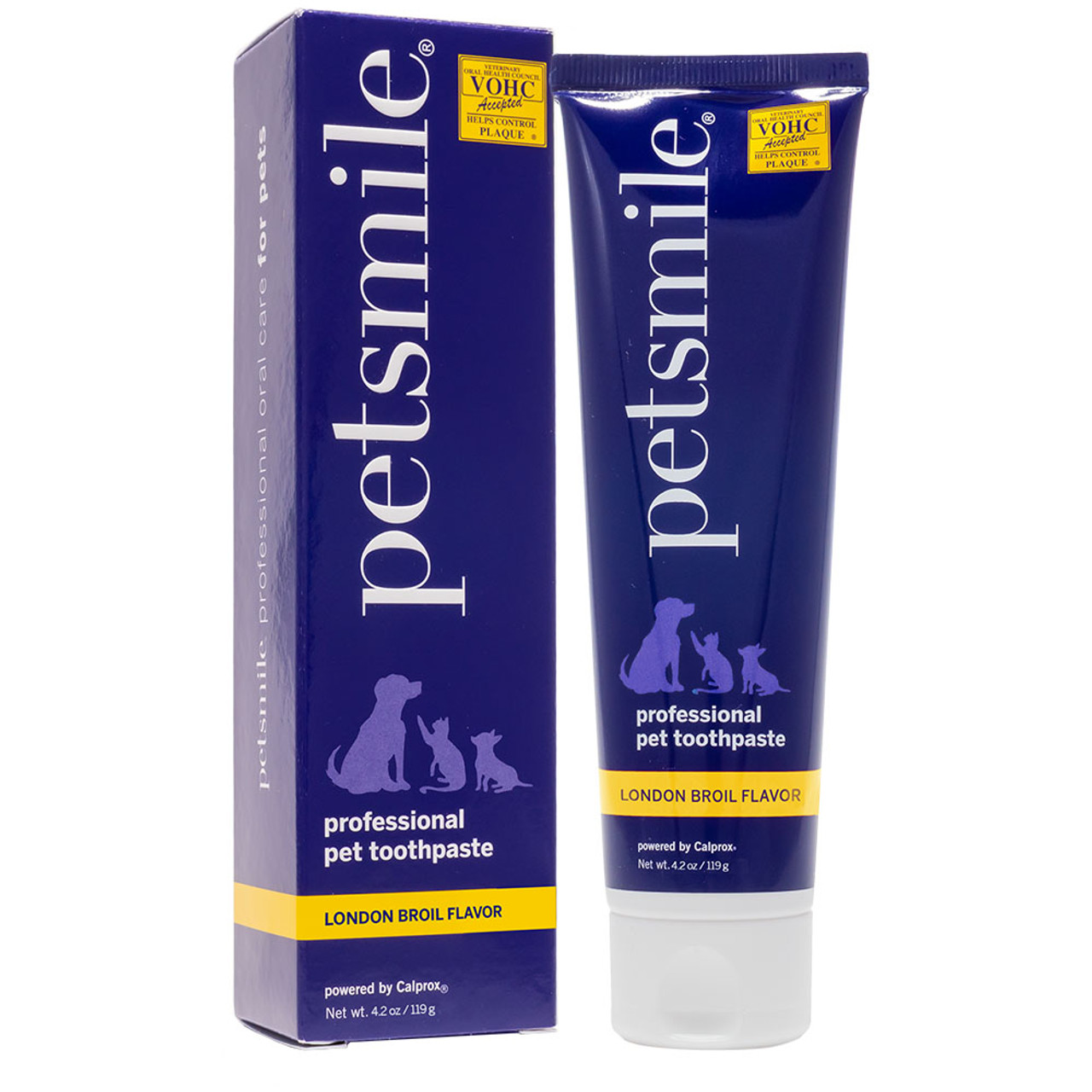 Petsmile Professional Natural London Broil Beef Flavor Pet Toothpaste - Front