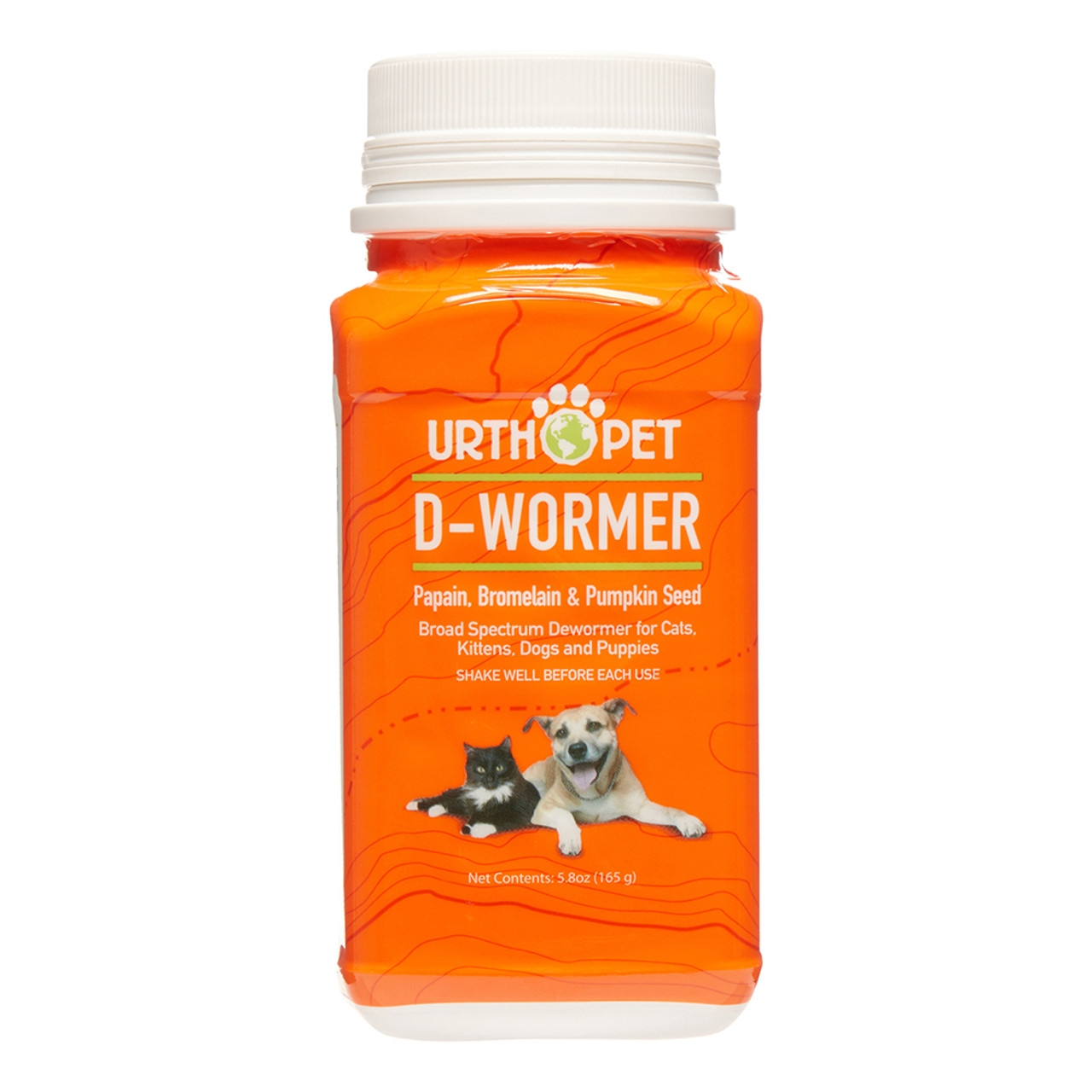 UrthPet D-Wormer Deworming Powder for Dogs & Cats