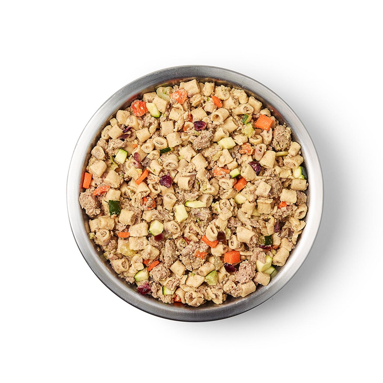JustFoodForDogs Turkey & Whole Wheat Macaroni Frozen Cooked Dog Food