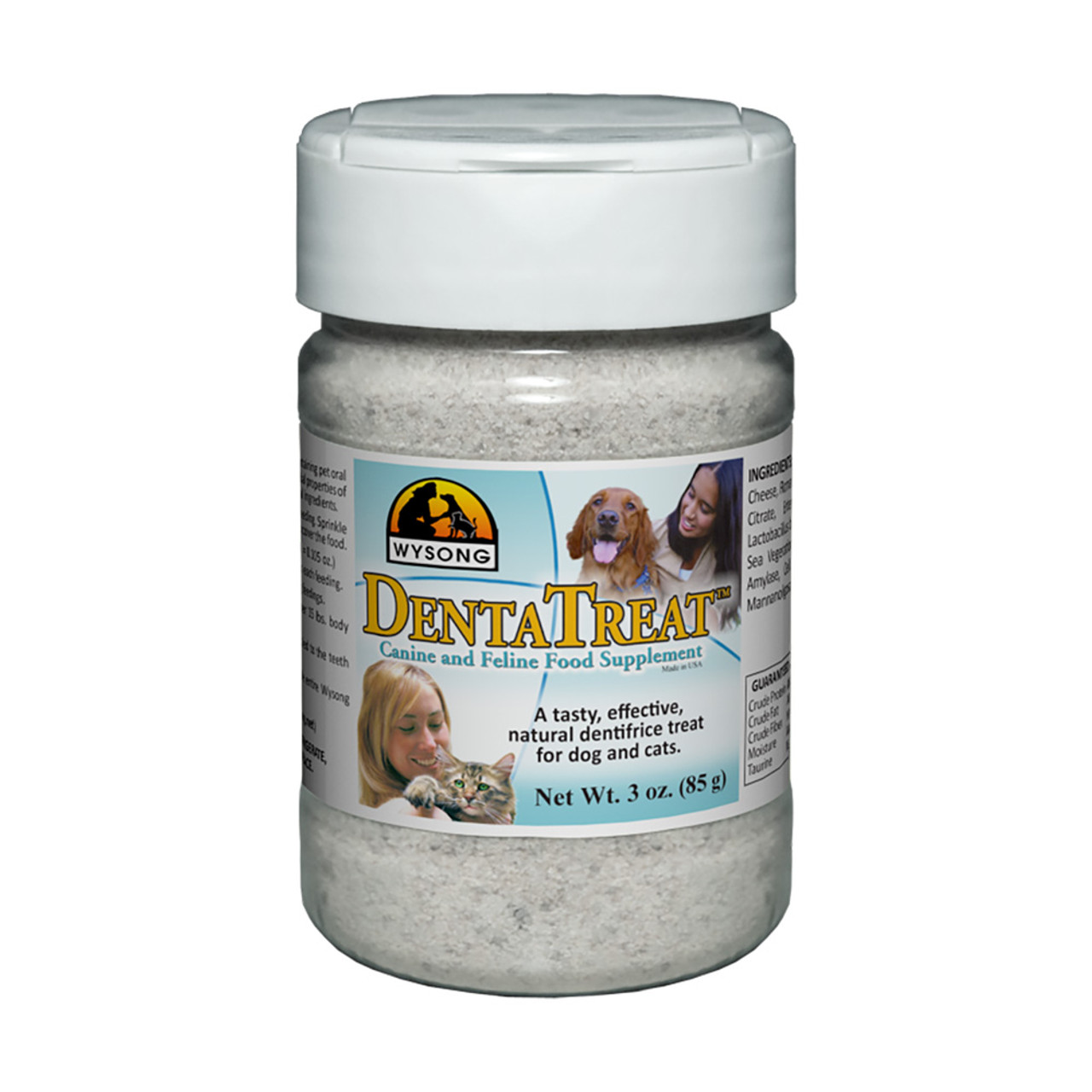 Wysong DentaTreat Canine and Feline Food Supplement