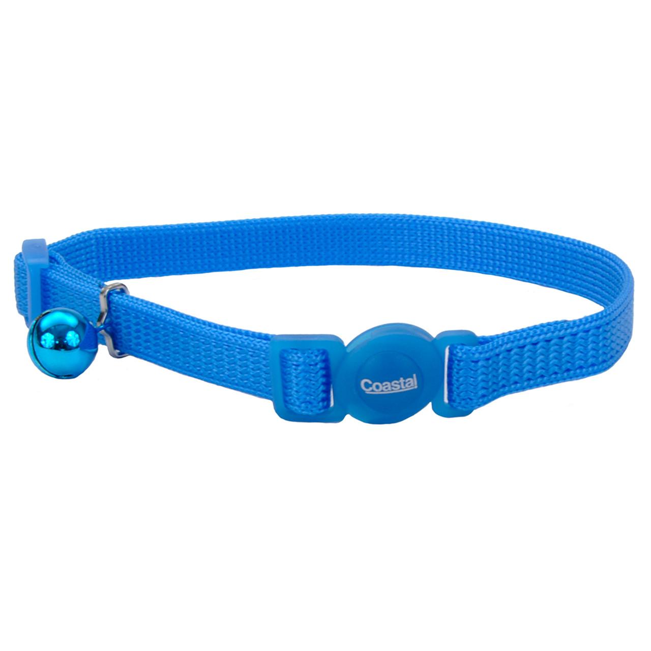 Safe Cat Adjustable Snag-Proof Breakaway Blue Lagoon Cat Collar
