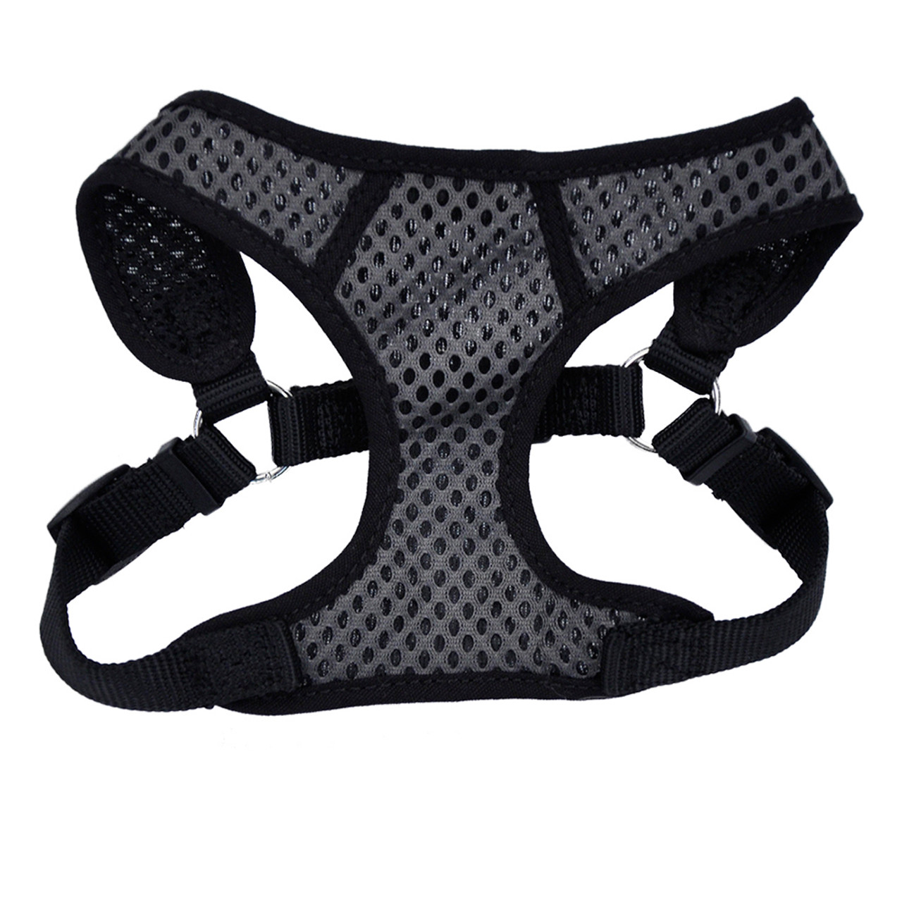 Comfort Soft Sport Wrap Adjustable Black Dog Harness