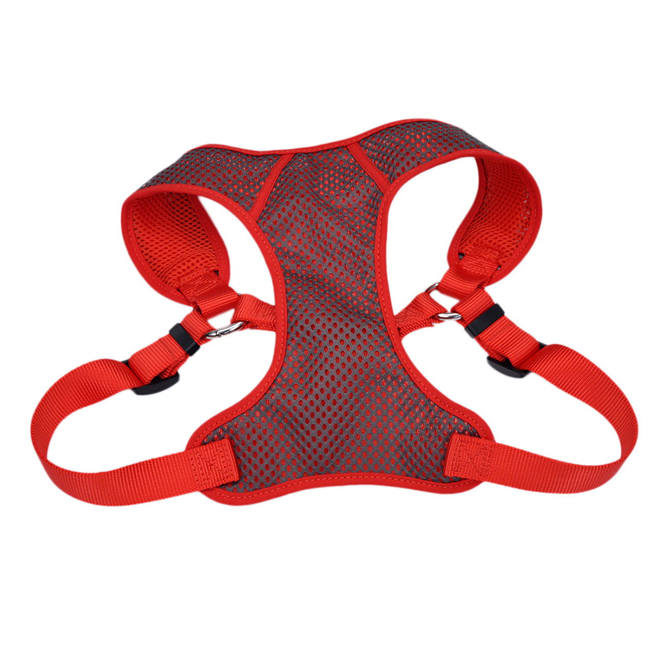 Comfort Soft Sport Wrap Adjustable Red Dog Harness