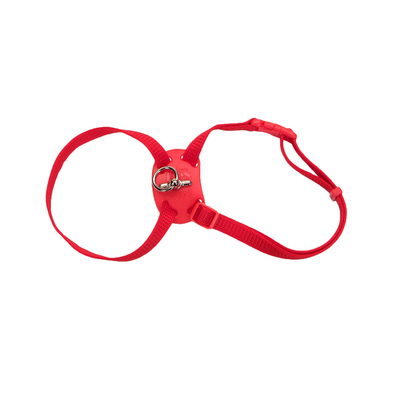 Coastal Size Right Snag-Proof Red Adjustable Cat Harness