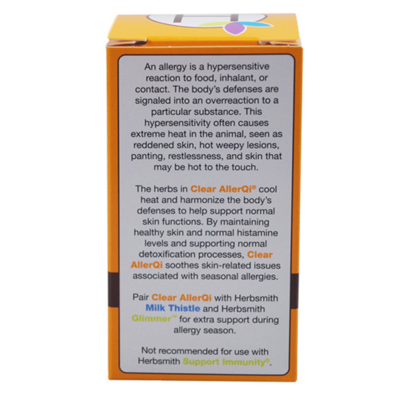 Herbsmith Clear AllerQi for Dogs and Cats