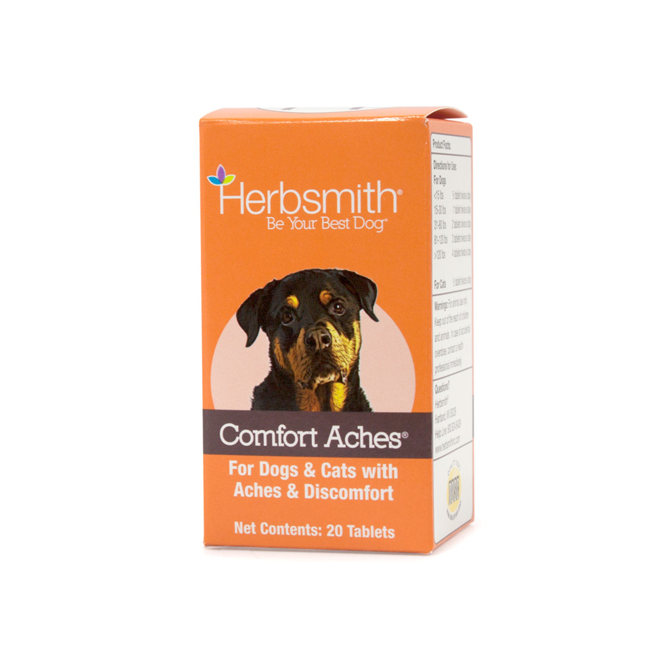 Herbsmith Comfort Aches Tablets for Dogs & Cats