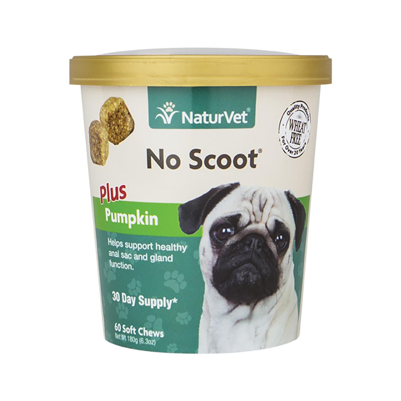 NaturVet No Scoot Soft Chews for Dogs