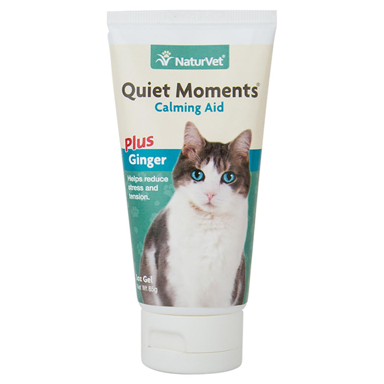 NaturVet Quiet Moments Calming Gel for Cats
