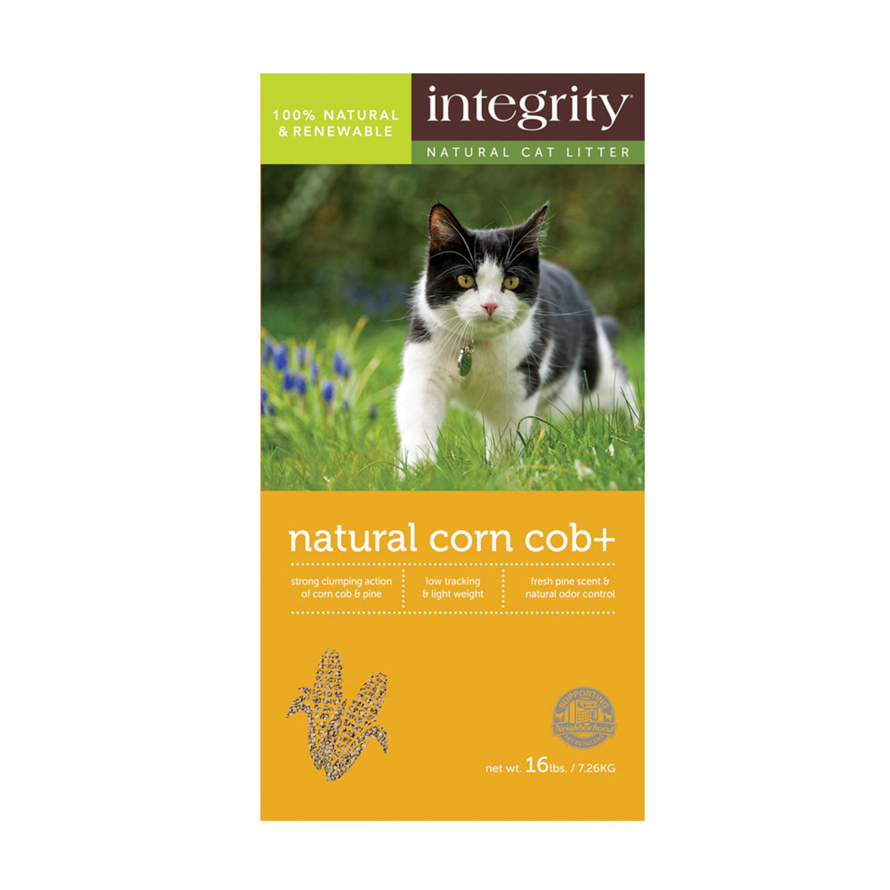 Integrity Natural Corn Cob+ Cat Litter