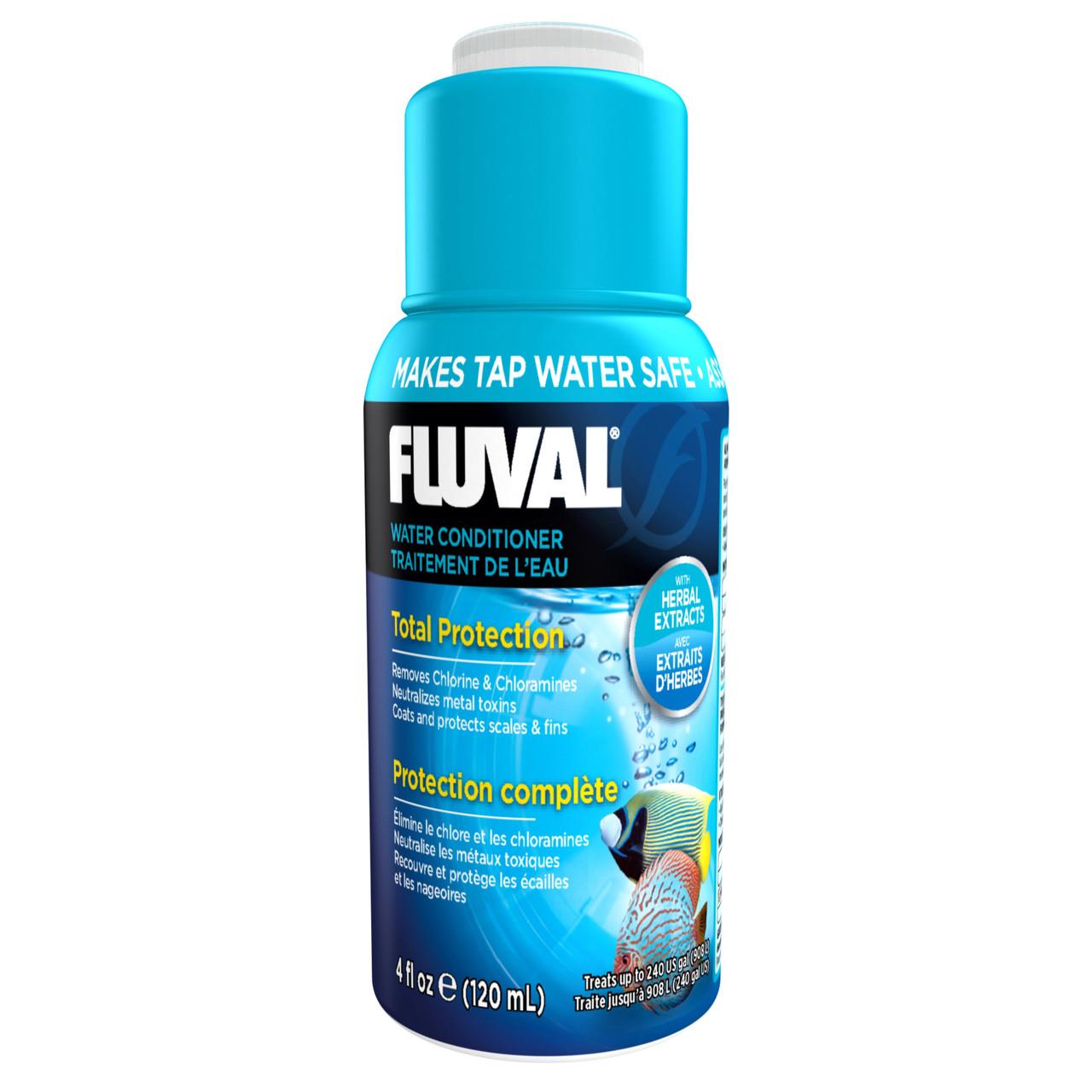 Fluval Aqua Plus Tropical Fish Aquarium Water Conditioner