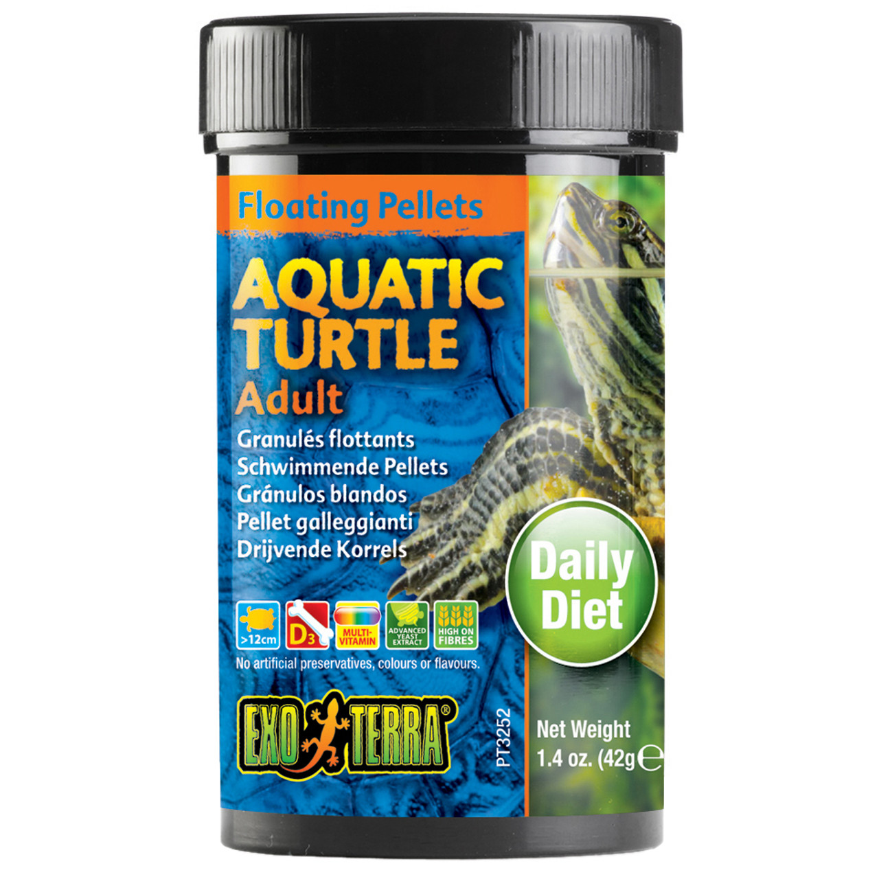 Exo Terra Aquatic Turtle Adult Floating Pellets