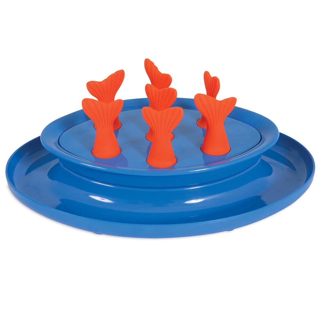 Jackson Galaxy Go Fish Puzzle Bowl Cat Toy