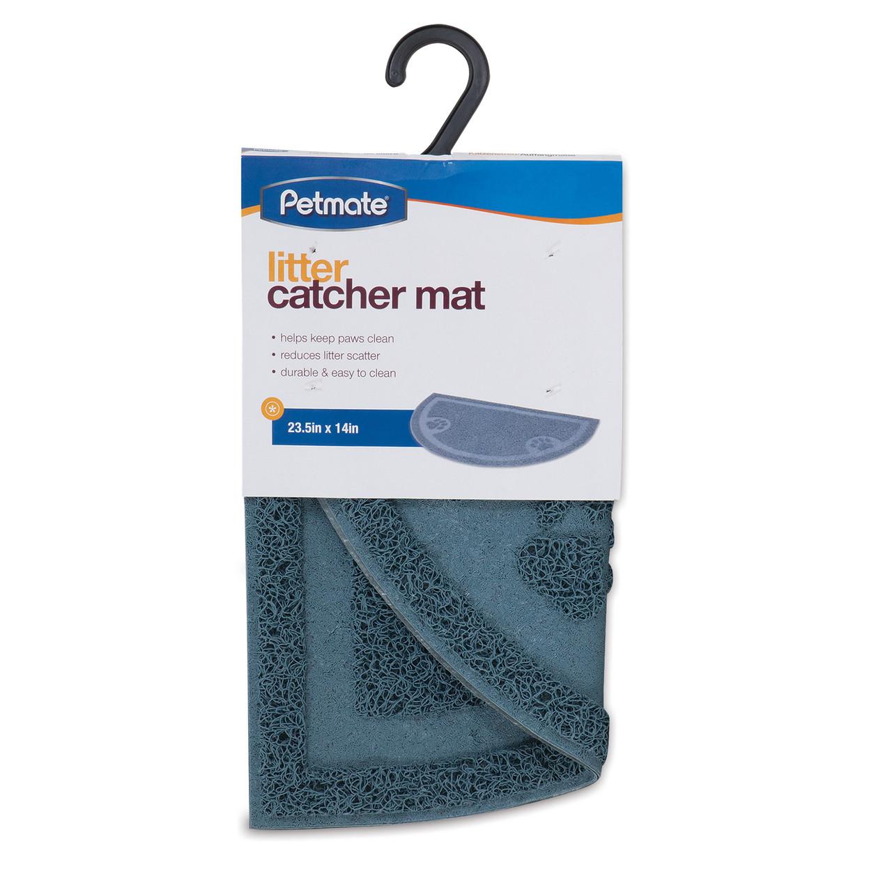 Petmate Litter Catcher Mat 1/2-Circle