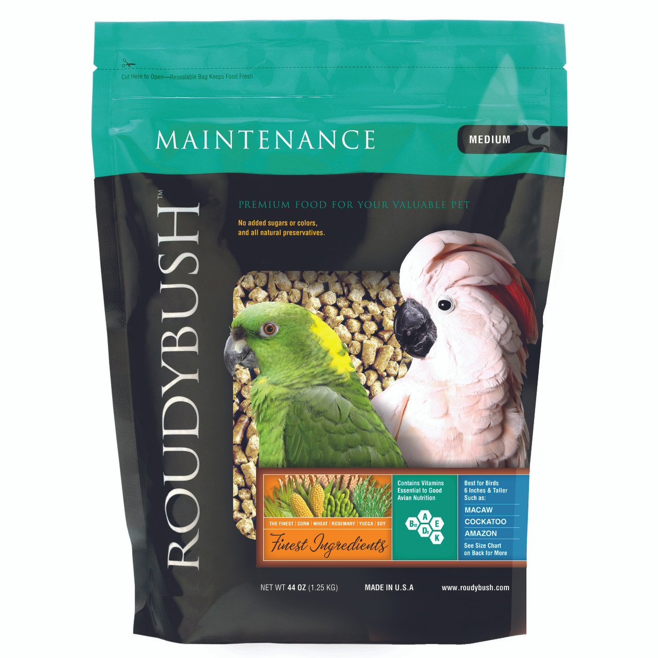Roudybush Daily Maintenance Medium Bird Food