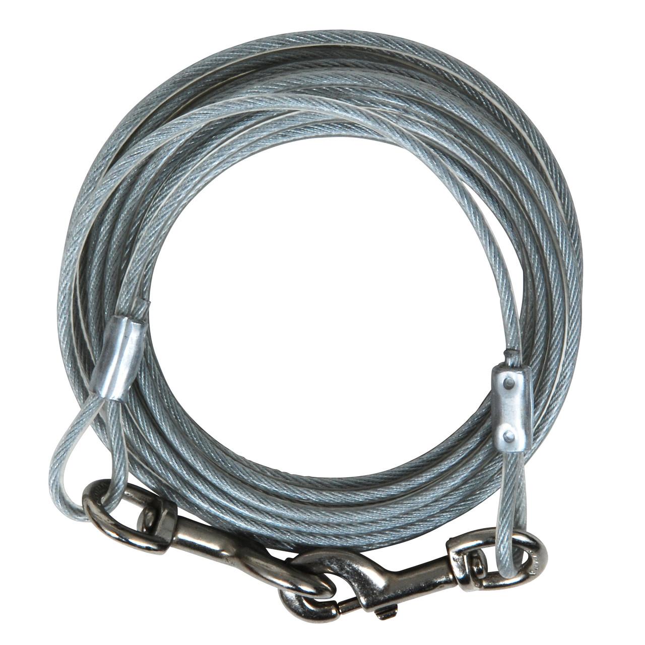 Aspen Pet Heavy Duty Dog Tie-Out Cable