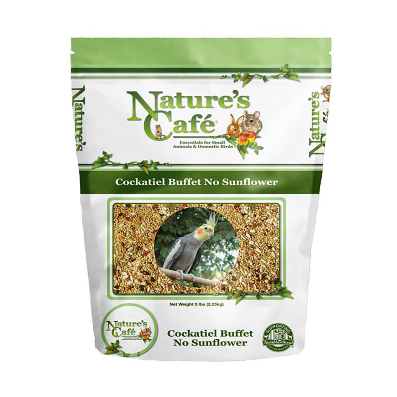 Nature's Cafe Cockatiel Buffet with No Sunflowers Bird Food