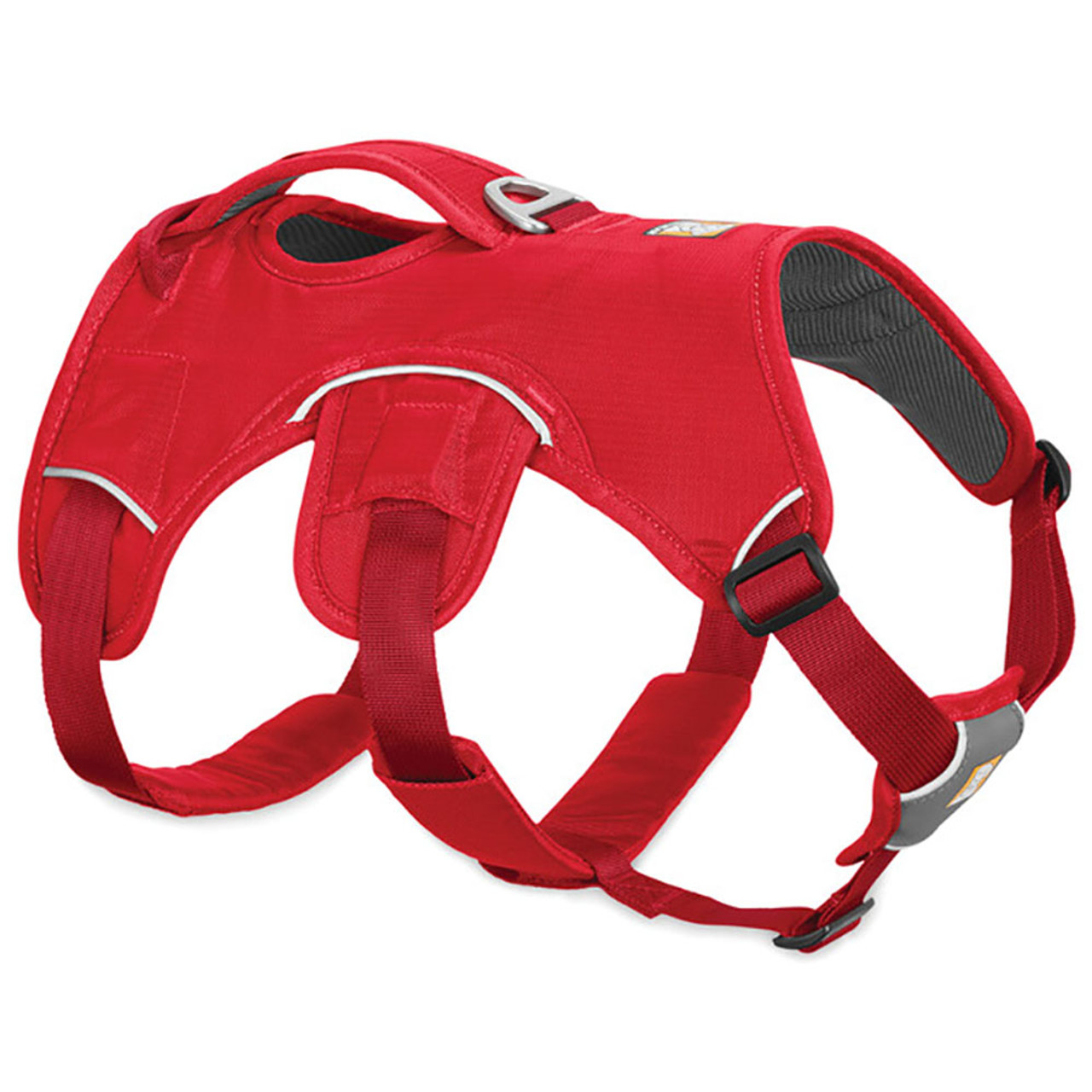 RuffWear Web Master Dog Harness - Front, Red Currant