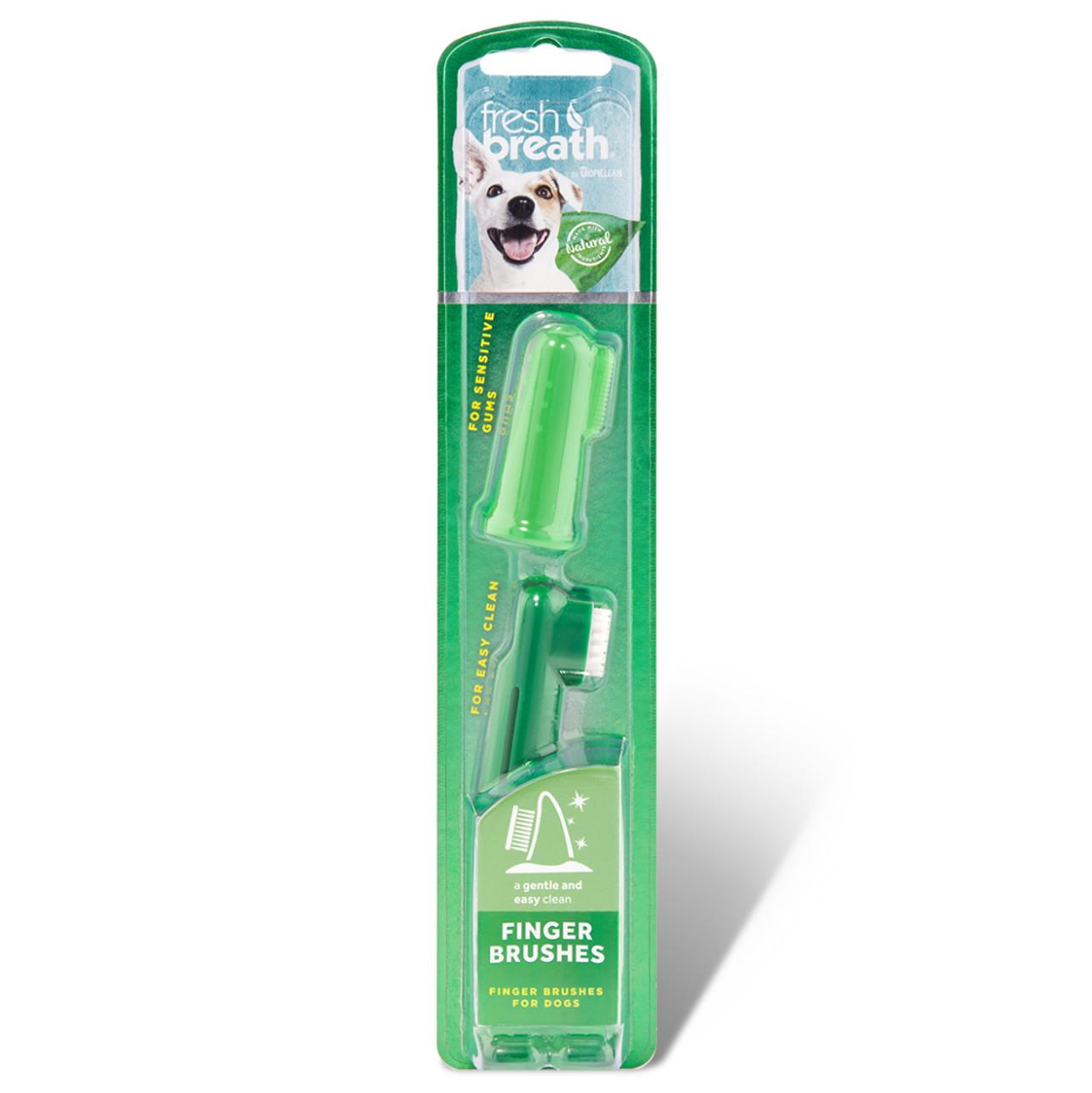 Fresh Breath Finger Brushes for Dogs