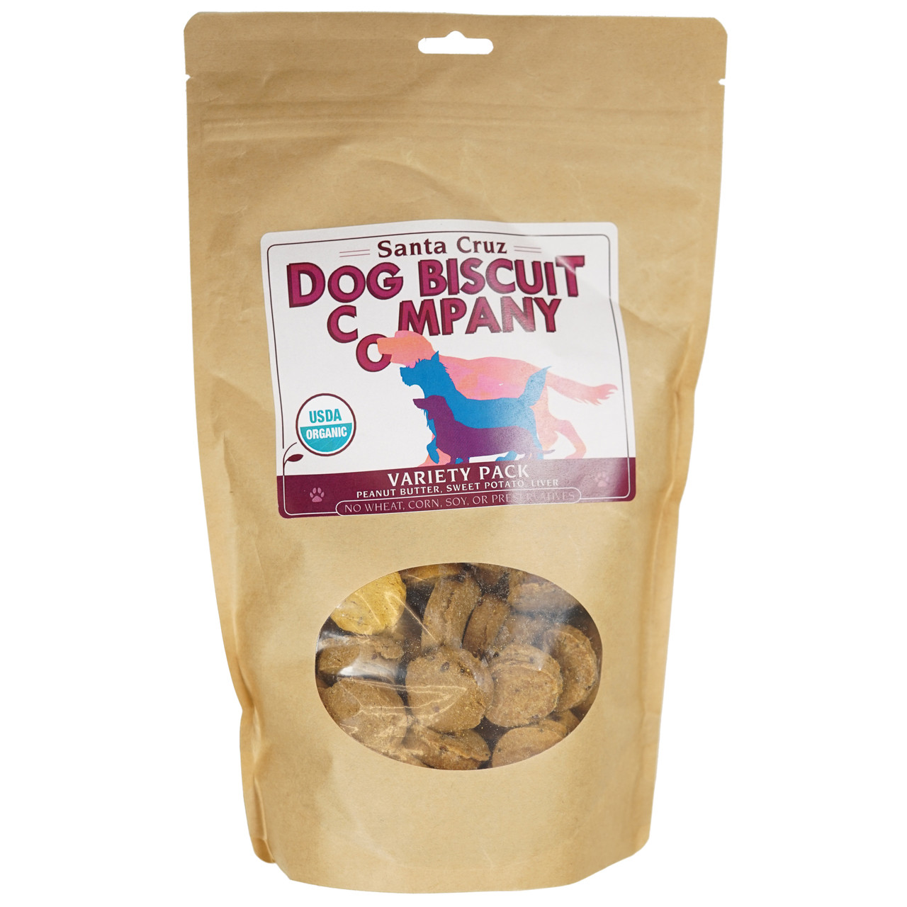 Santa Cruz Dog Biscuit Company Variety Pack Dog Biscuits